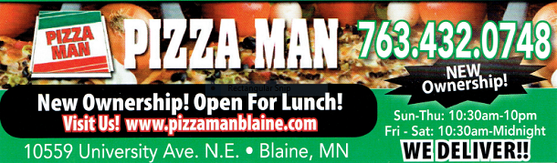 Blaine Pizza Man