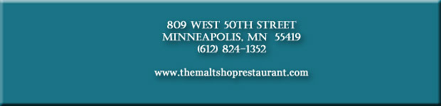 THE MALT SHOP RESTAURANT