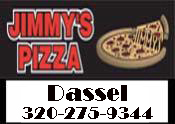 Jimmys Pizza of Dassel